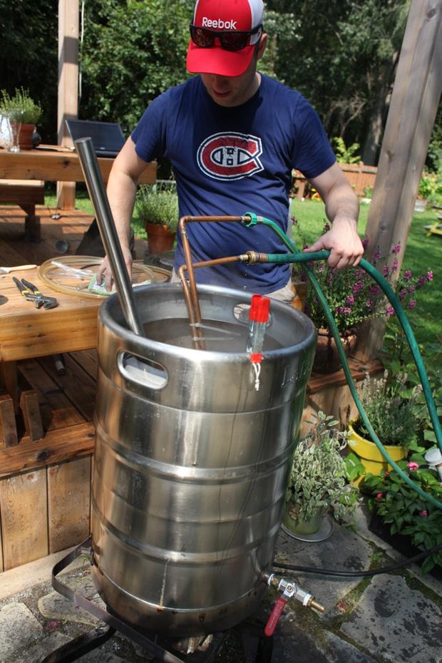 Cooling beer-1