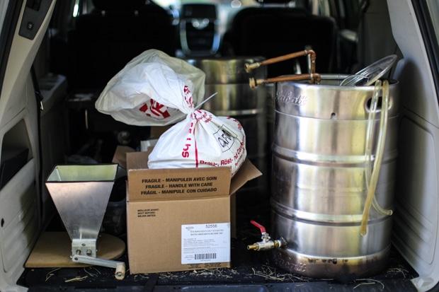 Simple Bites Beer Chronicles: Brewing    SimpleBites.net #beer #diy