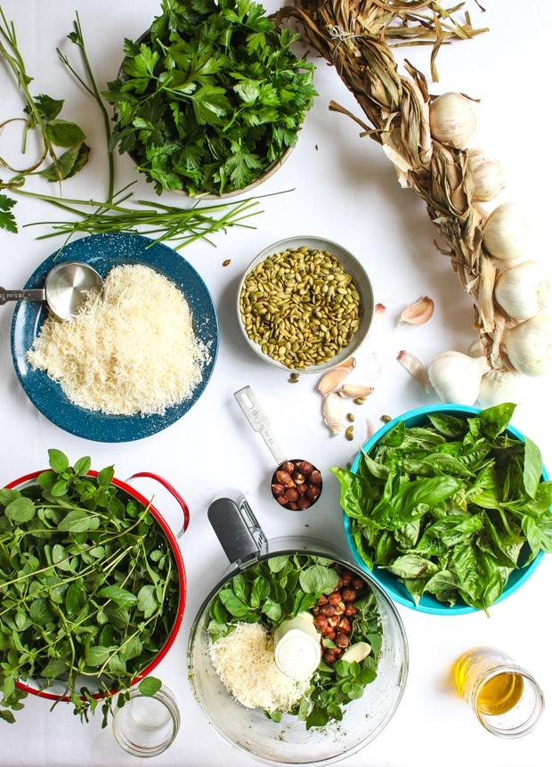 Three fall pesto recipes    Simple Bites #recipe