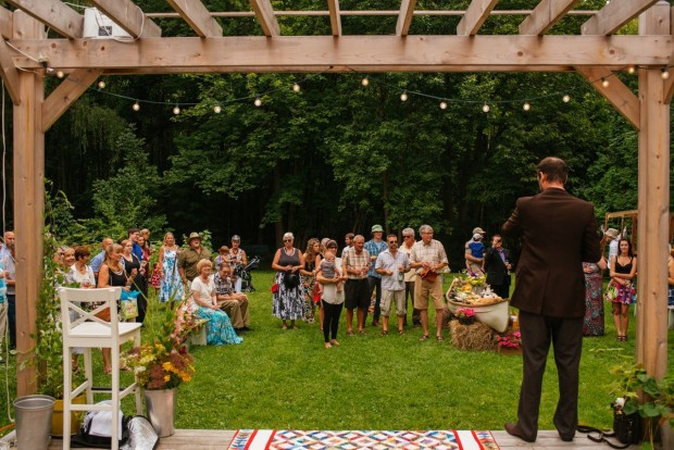 Or The Ultimate Big Backyard Party? A Wedding. Yep, Iu0027m Saying It Can Be  Done. Why? Because Danny And I Hosted A Wedding Reception For 80 Guests On  A ...