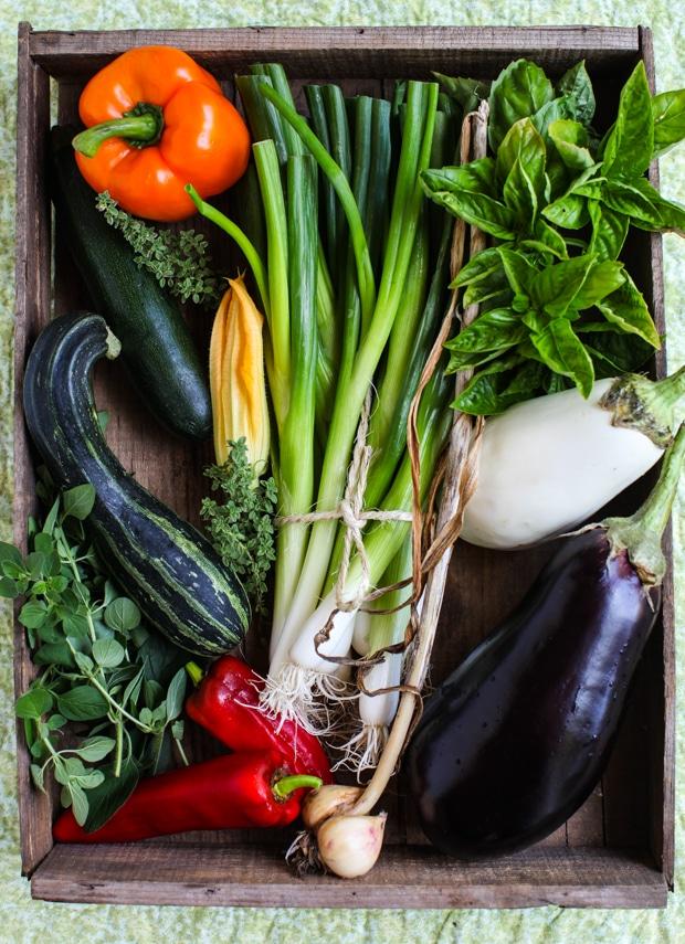 September seasonal vegetables