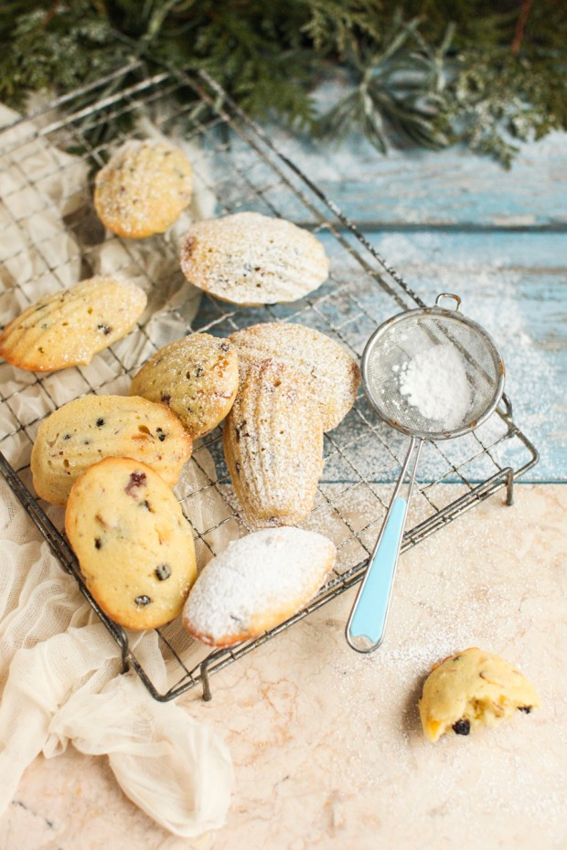 Christmas Stollen Madeleines with Preserved Lemon    Simple Bites