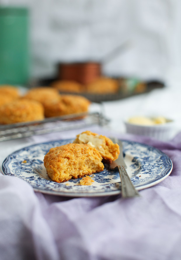 Sweet Potato Red Lentil Biscuits || Simple Bites #lovepulses