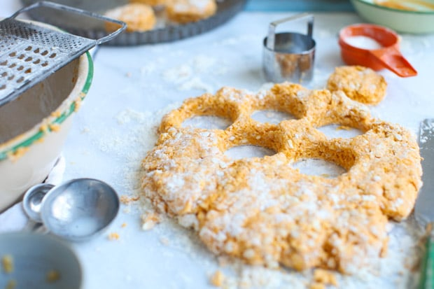 Sweet Potato Red Lentil Biscuits    Simple Bites #lovepulses
