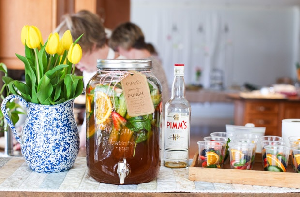 Pimm's Party Punch || Simple Bites