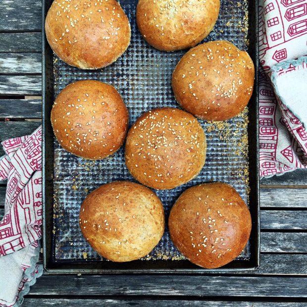 Hamburger buns | Simple bites