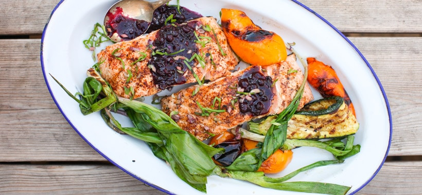 Grilled salmon | Simple Bites