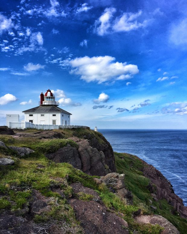 Cape Spear lighthouse || Family travel in Newfoundland, Canada | Simple Bites