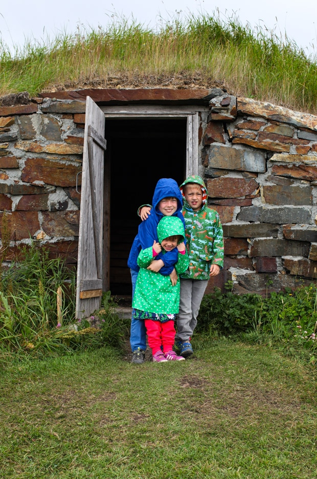Ellison root cellars || Family travel in Newfoundland, Canada | Simple Bites