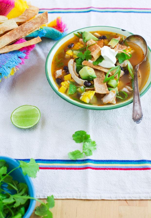 Harvest Tortilla Soup recipe | Simple Bites