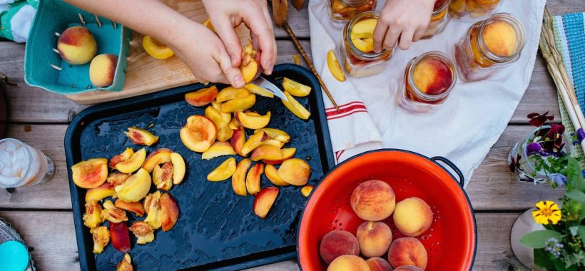 Canning peaches | Canning with Kids | Simple Bites