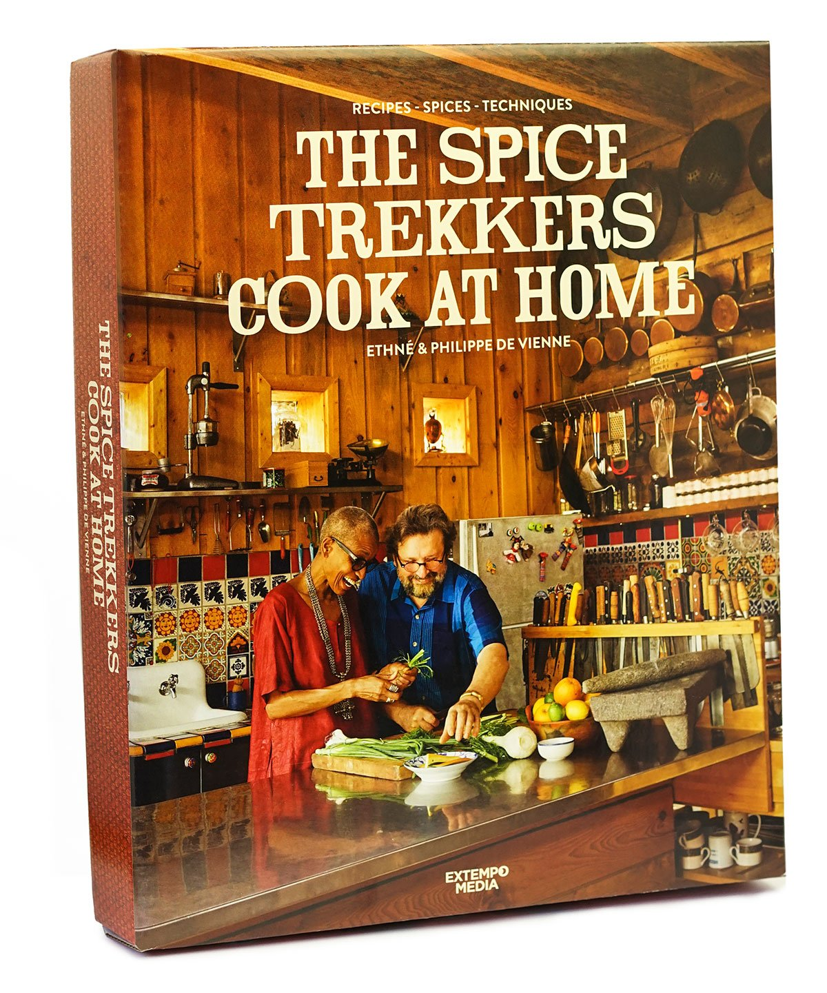 The Spice Trekkers Cook at Home Cookbook Cover