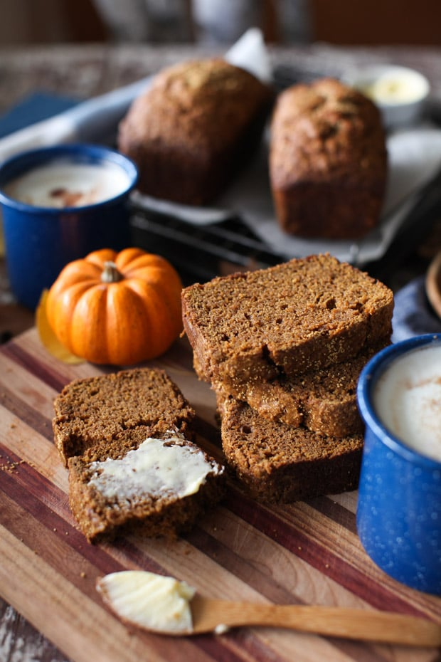 Pumpkin Olive Oil Bread || Simple Bites