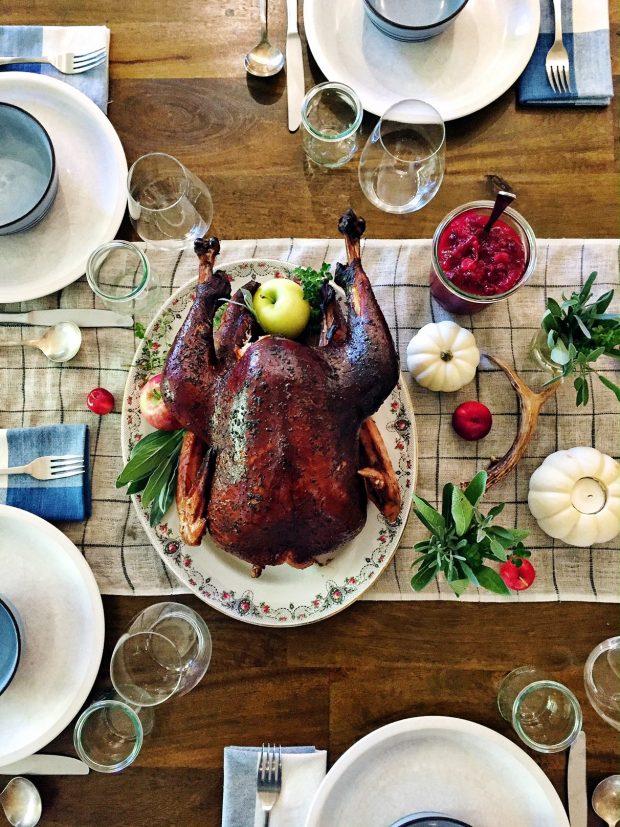Smoked Thanksgiving turkey