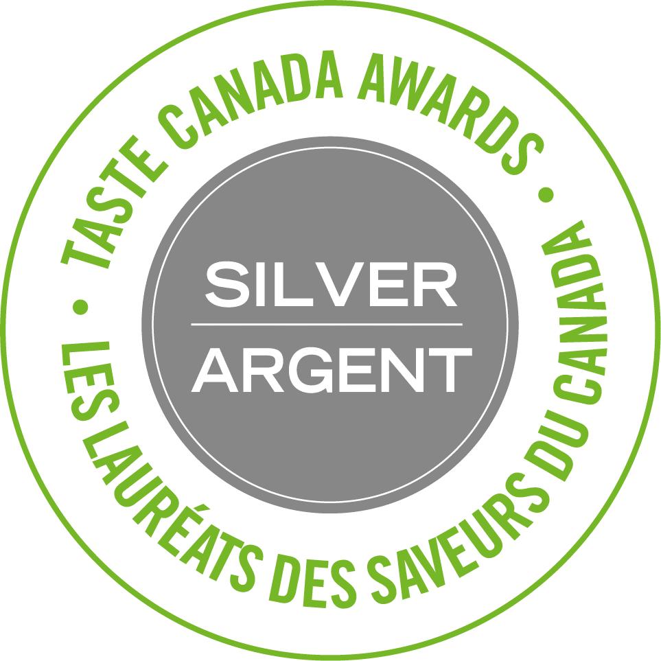 Taste Canada's Silver Award Winner